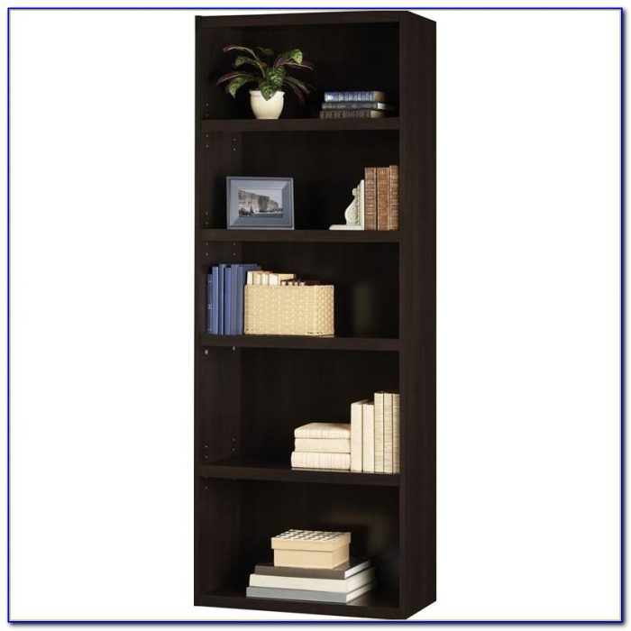 Dark Cherry Corner Bookcase