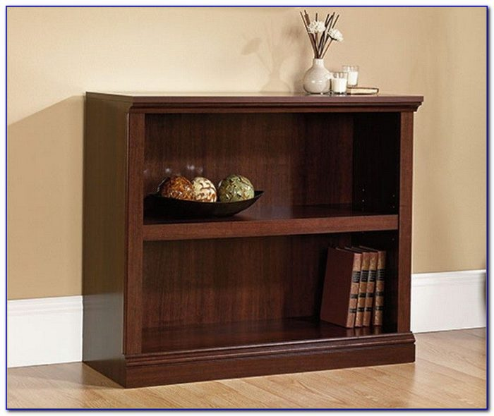 Dark Cherry Wood Bookcase