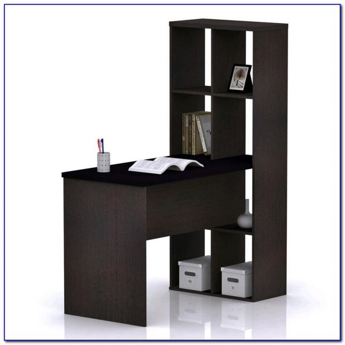 Desk Bookshelf Combo