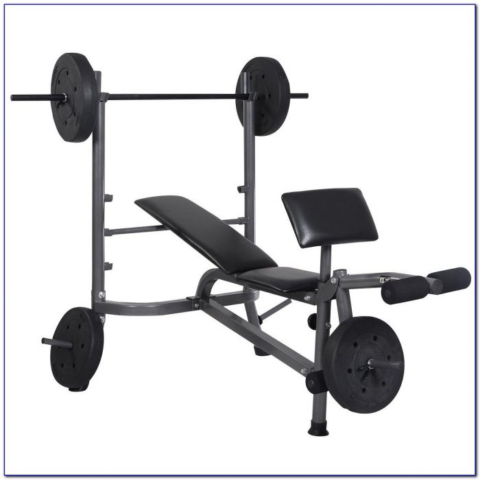 Everlast Weight Bench And Weights Set