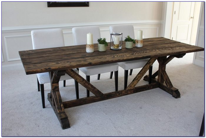 Farmhouse Dining Table Bench And Chairs