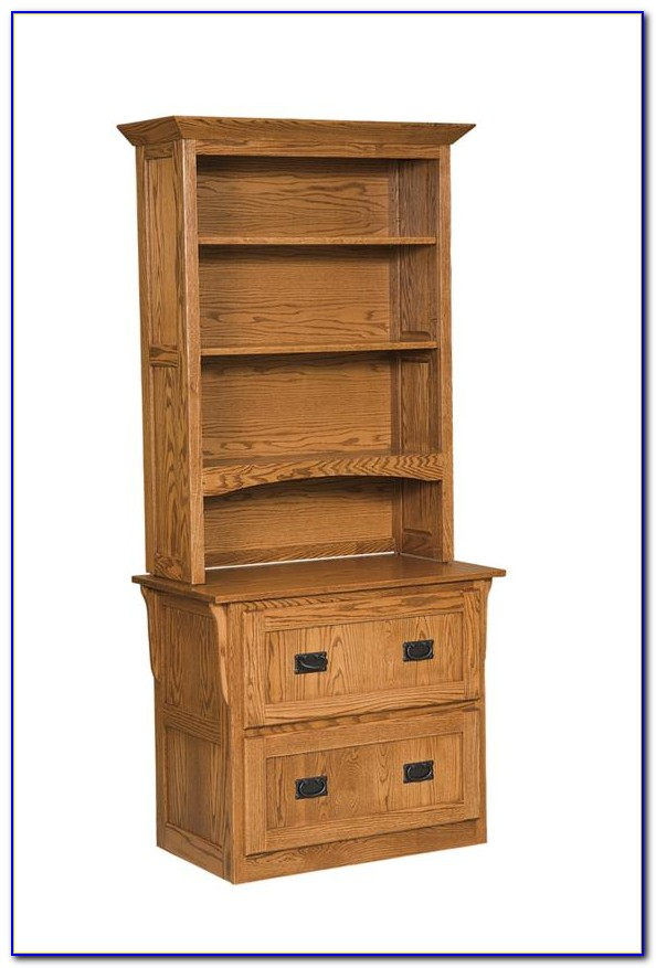 File Cabinet With Bookshelves