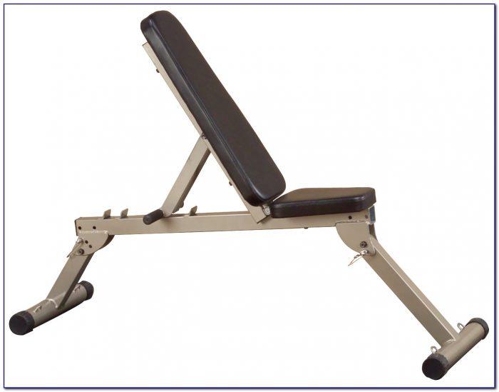 Fold Away Weight Bench
