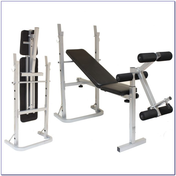Weight Lifting Bench Set With Weights Bench Home