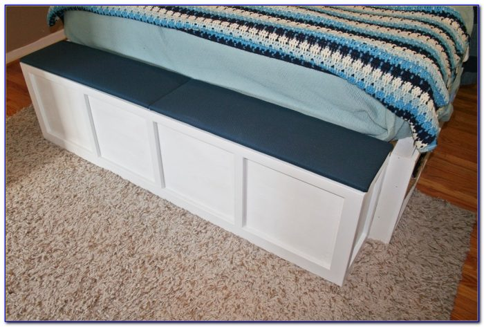 Foot Of Bed Bench With Storage