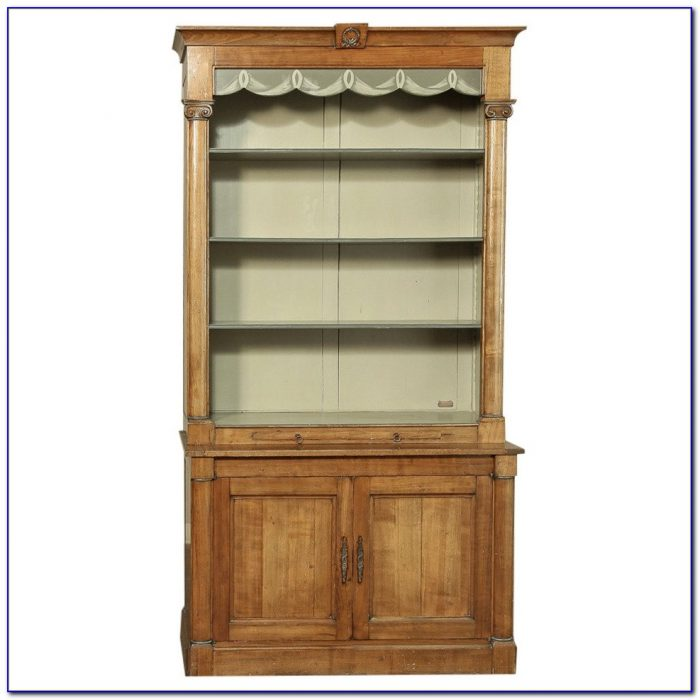 French Country Bookshelves