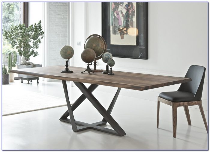 Gus Modern Plank Dining Table And Bench