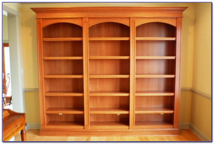 How To Build Bookcase Wall Unit