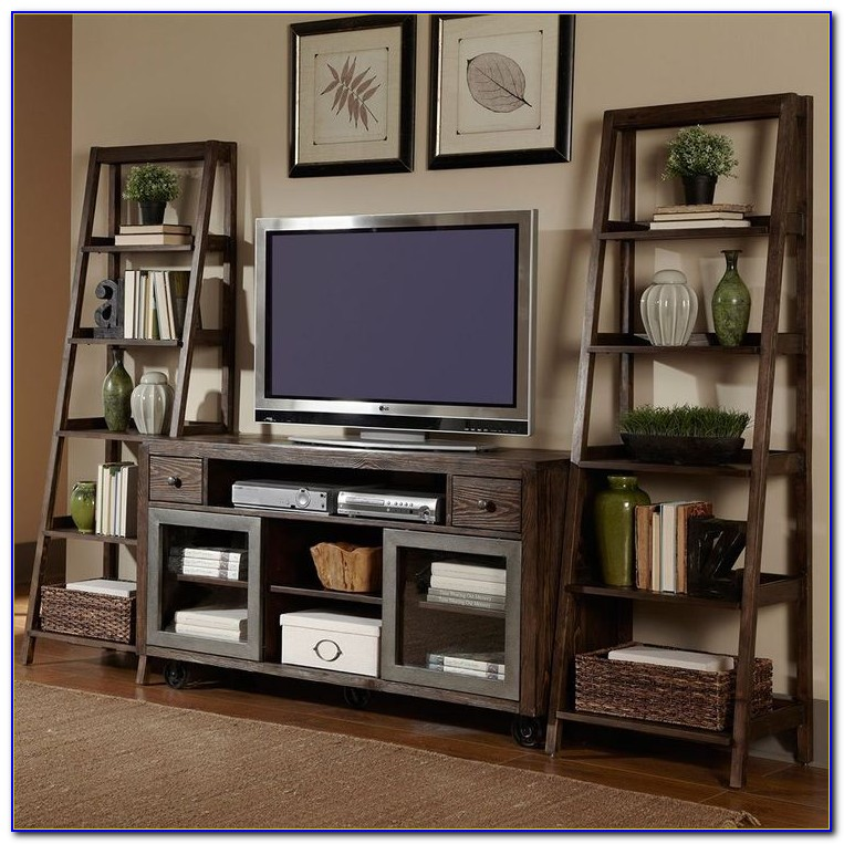 Ikea Bookcase Entertainment Center