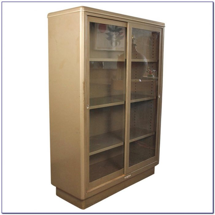 Industrial Metal Barrister Bookcase