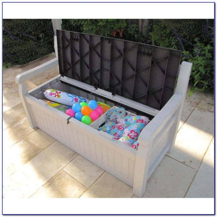 Keter Garden Storage Bench