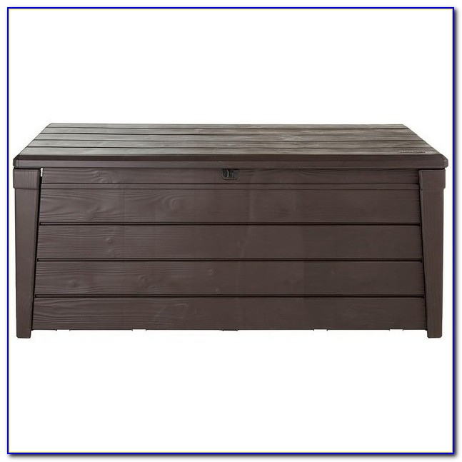 Keter Iceni Garden Storage Bench Box