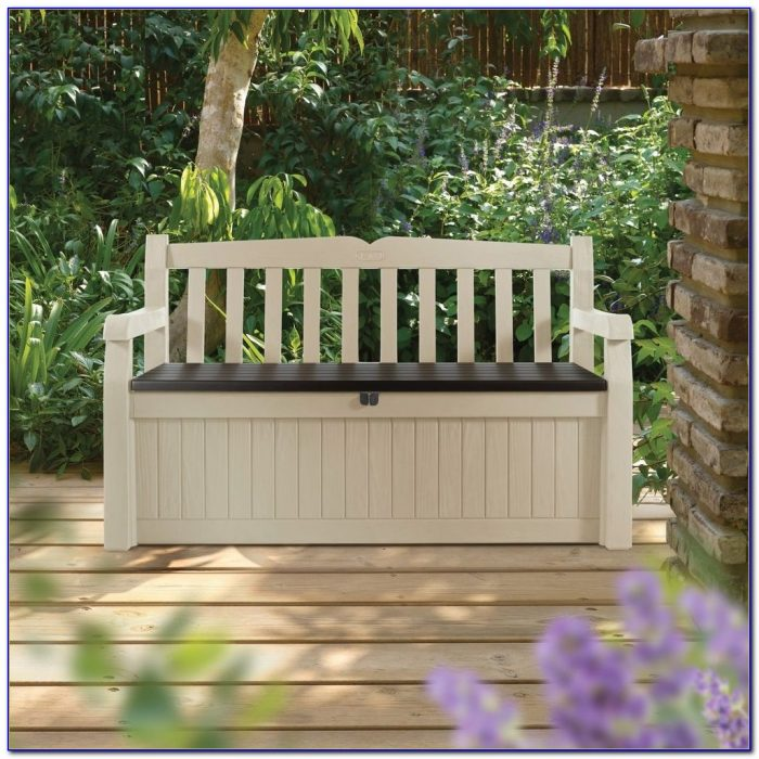 Keter Outdoor Storage Bench Box