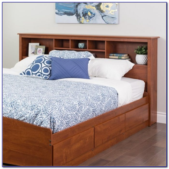 King Bookcase Headboard Bedroom Sets