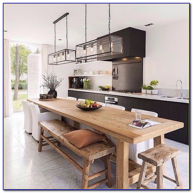 Kitchen Bench Dining Tables