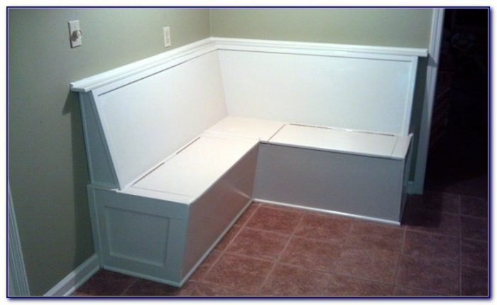 Kitchen Bench Seating With Storage Dimensions