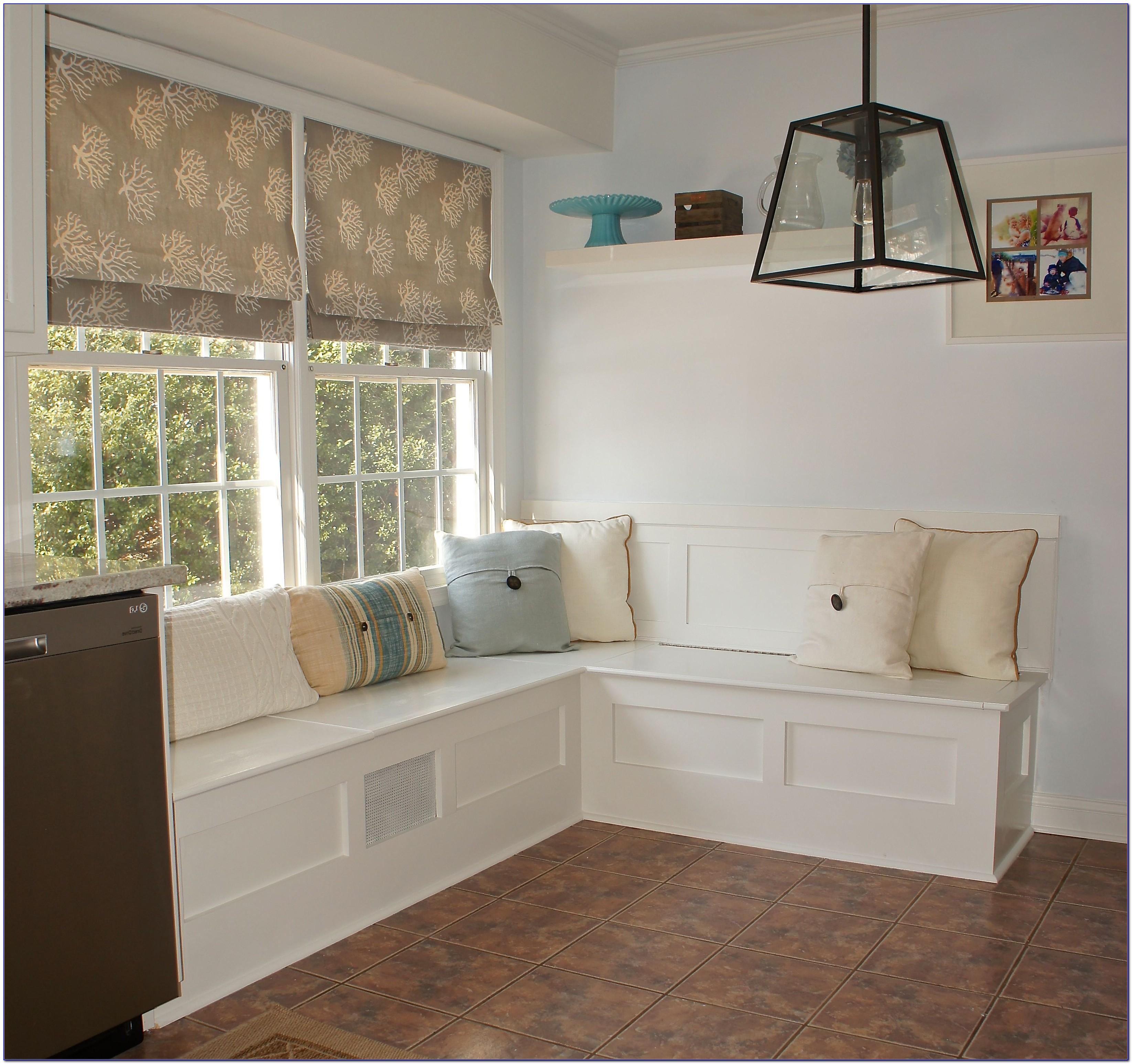 Kitchen Nook Benches With Storage