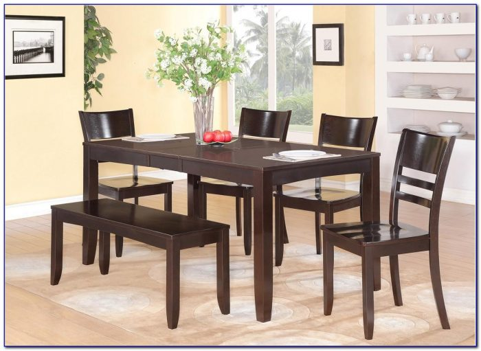 Kitchen Tables With Corner Bench Seating