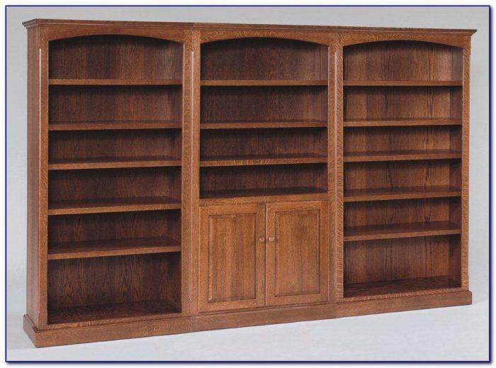 Large Wall Unit Bookcase