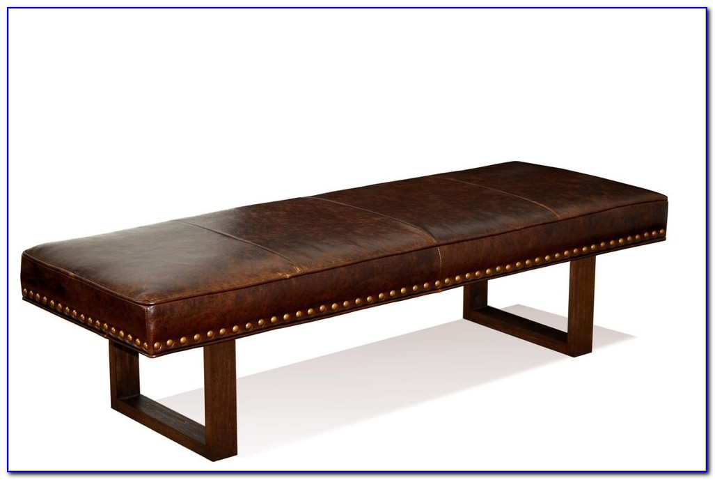 Leather Bench Coffee Table