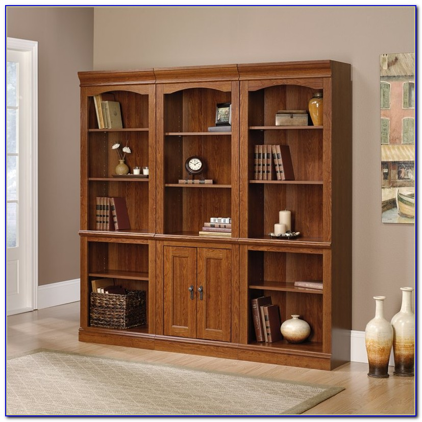 Library Bookcase Wall Unit Restoration Hardware