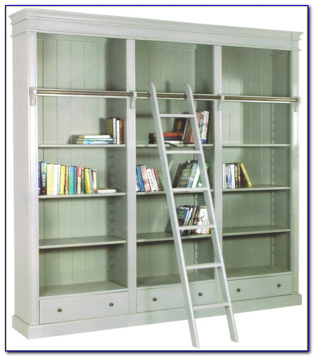 Library Bookcase With Ladder Uk