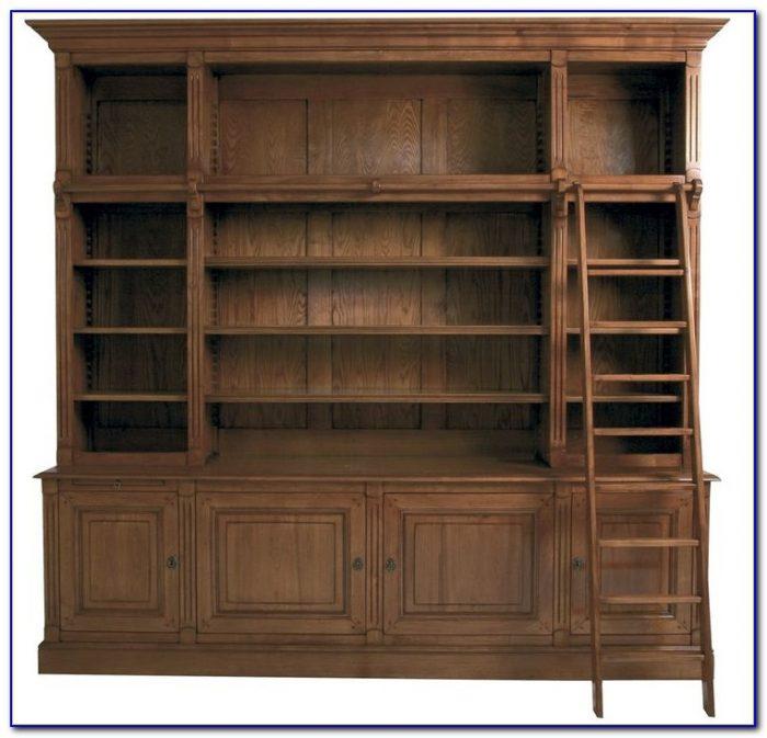 Library Glass Door Bookcases
