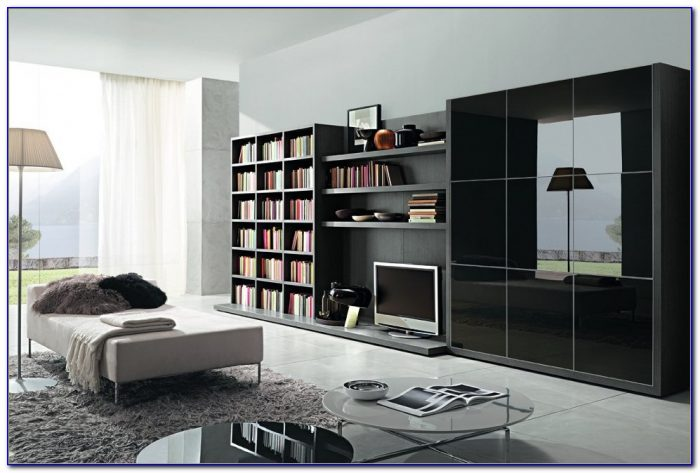 Living Room Bookcase Ideas