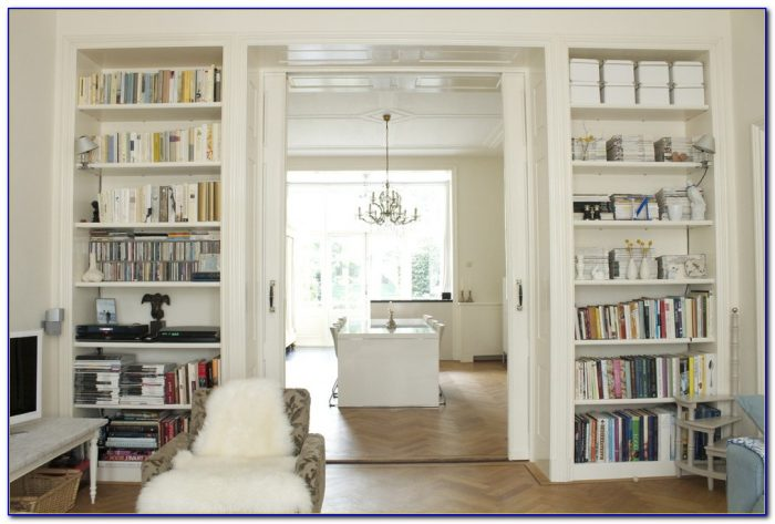 Living Room Bookcases Shelving