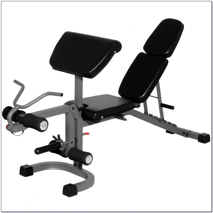 Marcy Classic Weight Bench With Lat And Arm Curl