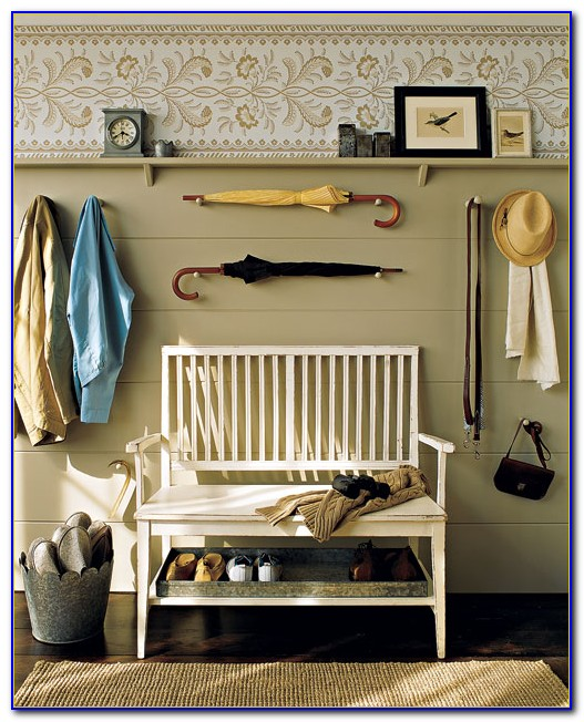 Martha Stewart Mudroom Bench