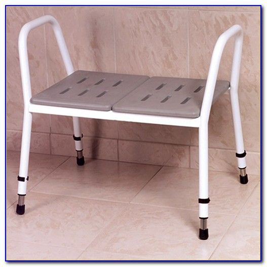 Medmobile Heavy Duty Bath Bench With Back And Removable Padded Arms