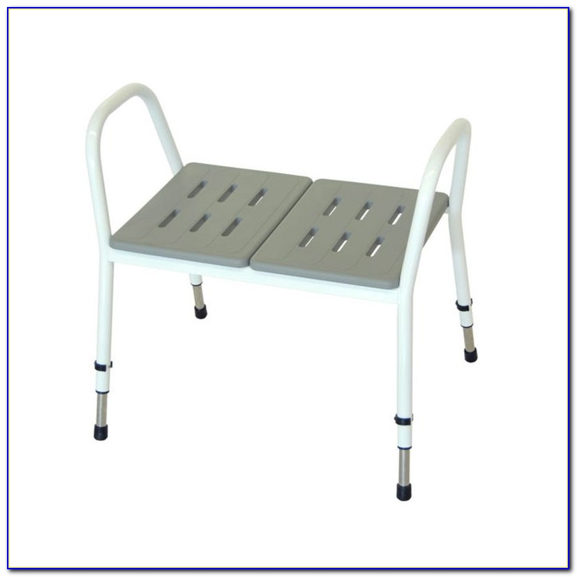 Medmobile Heavy Duty Bath Bench With Removable Padded Arms