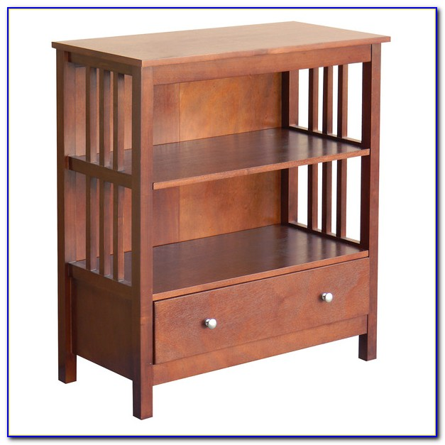 Mission Style Bookcase Headboard