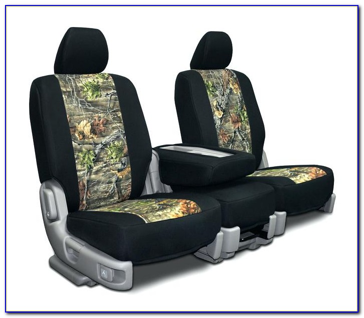 Mossy Oak Pink Camo Bench Seat Covers