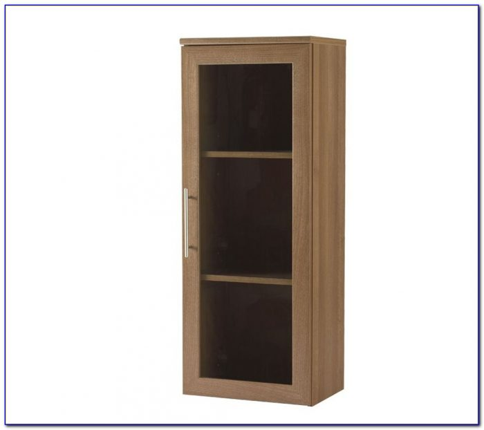 Narrow Shelves With Doors