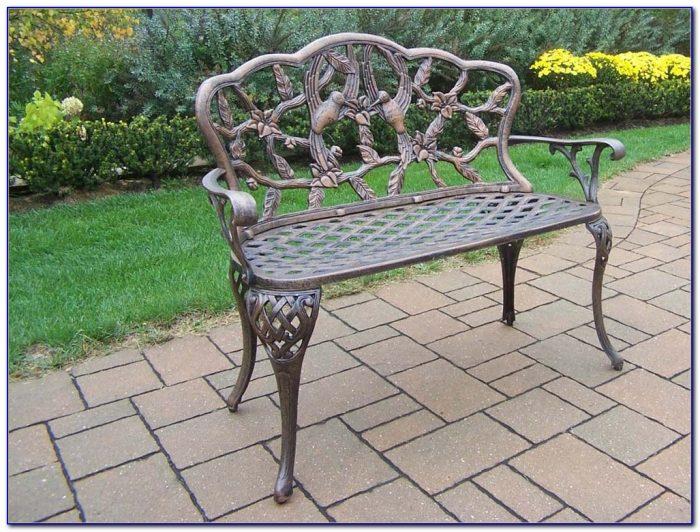 Nassau Cast Aluminum Garden Bench