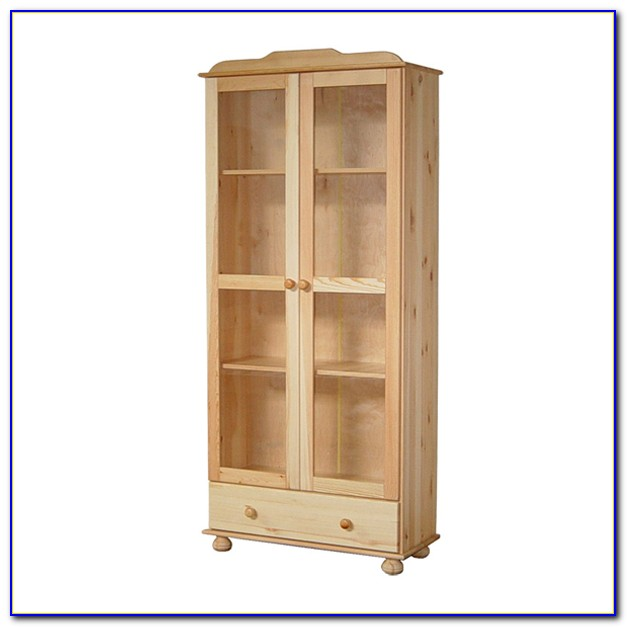 Natural Wood Color Bookcase
