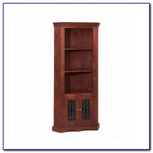 Oak Corner Bookcase Furniture