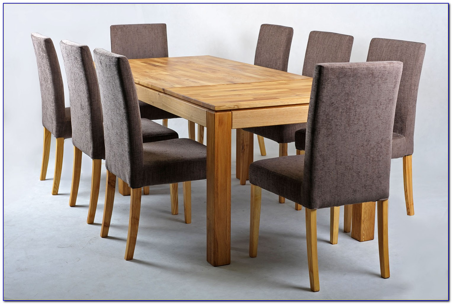 Oak Table And 2 Benches