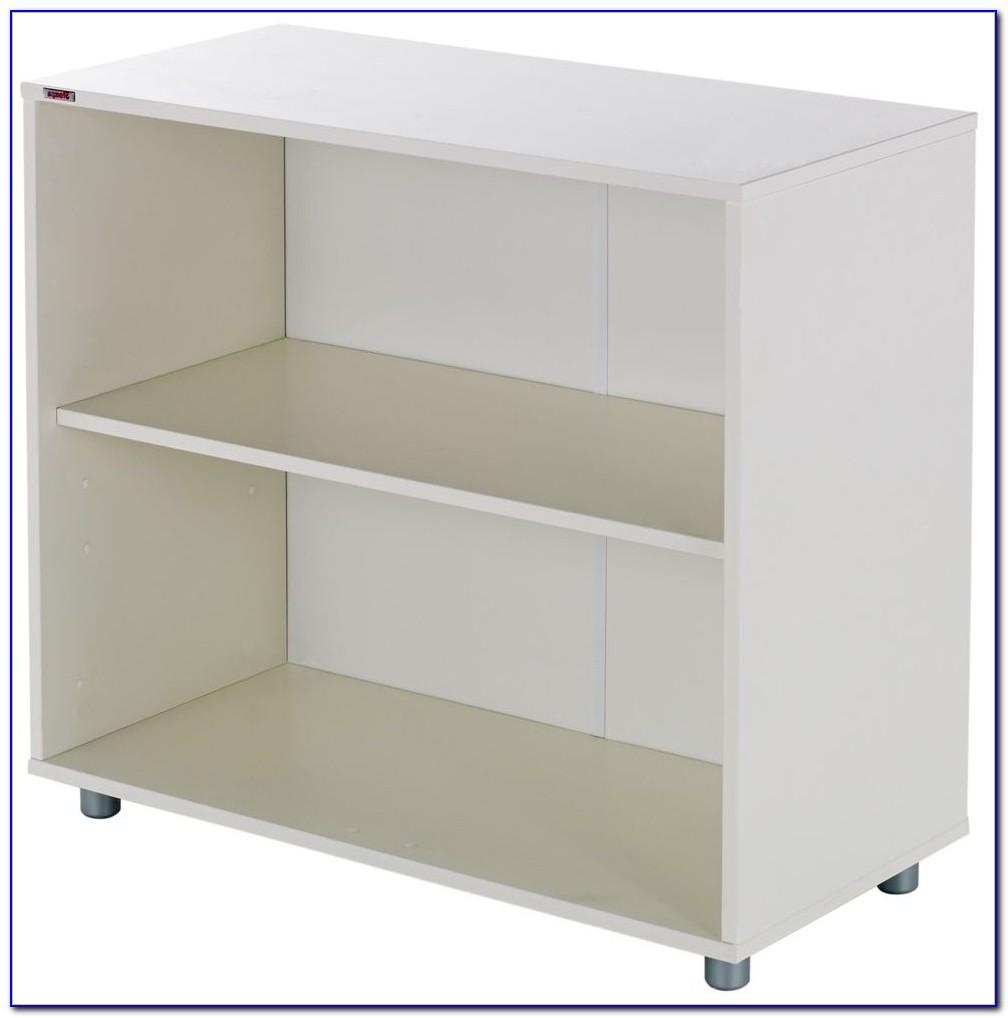 One Shelf Bookcase White