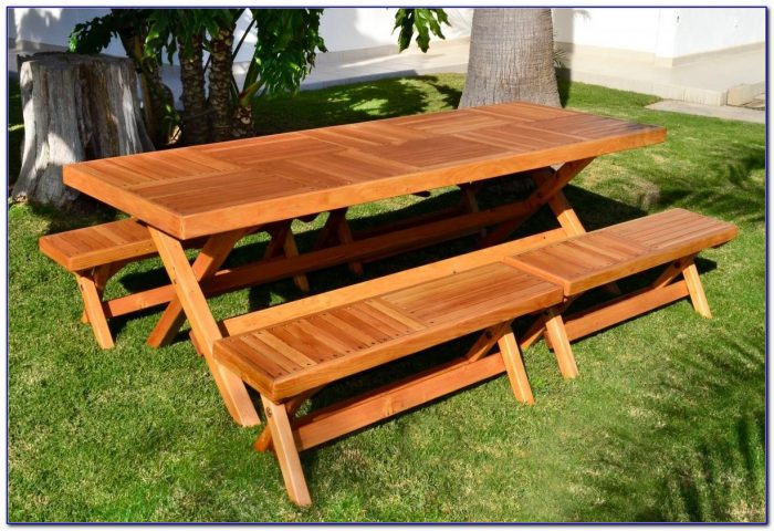 Outdoor Furniture Wooden Benches