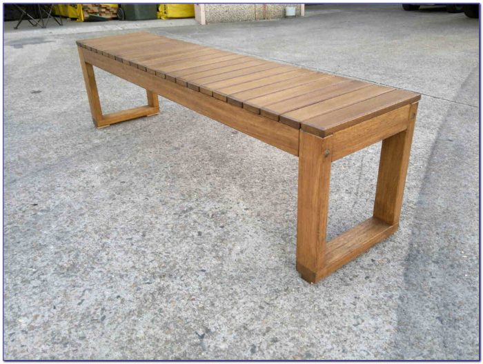 Outdoor Wooden Seating Benches