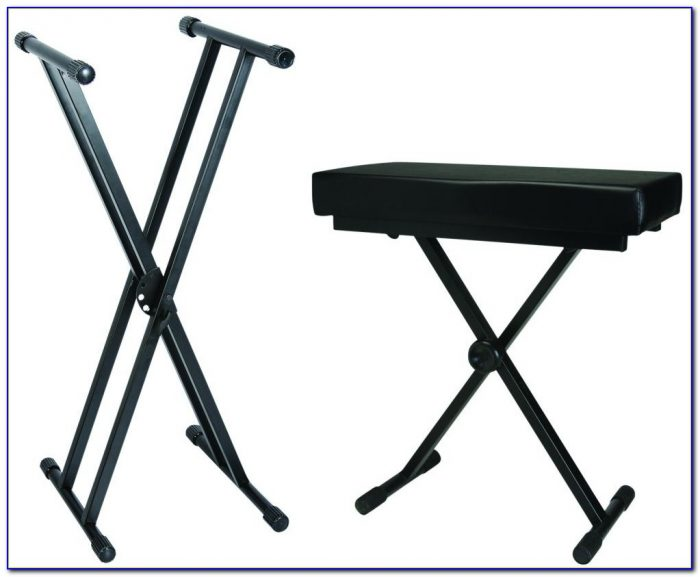 On stage keyboard bench bench home design ideas Keyboard stand and bench