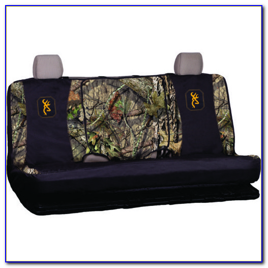 Pink Camo Split Bench Seat Covers