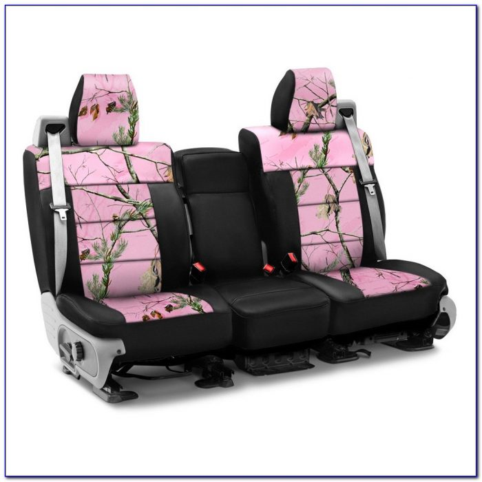 Pink Realtree Bench Seat Covers