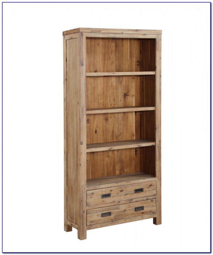 Real Wood Bookcase White