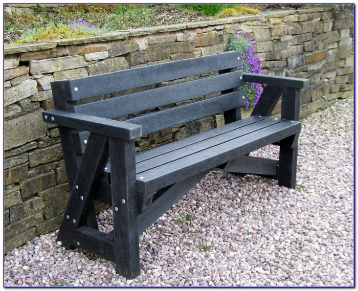 Recycled Plastic Garden Benches