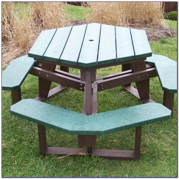 Recycled Plastic Picnic Benches Scotland