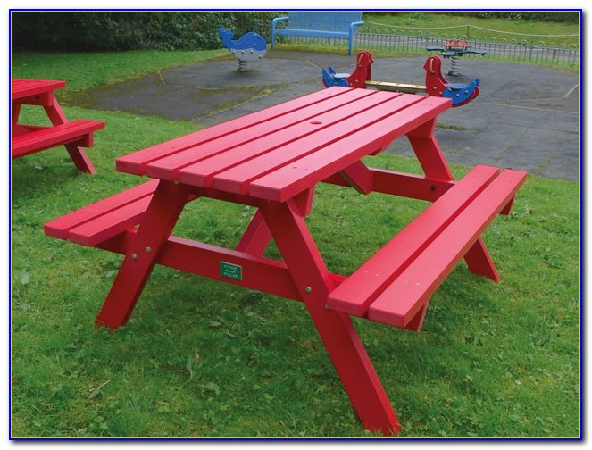 Recycled Plastic Picnic Table Bench